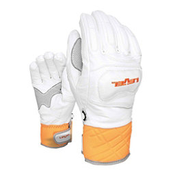 Level Race Ski Racing Gloves, White, 256