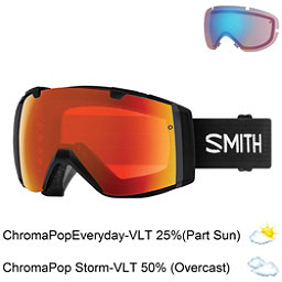 Smith I/O Goggles 2018, Black-Chromapop Everyday Red M + Bonus Lens, 256