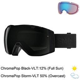 Smith I/O Goggles 2018, Blackout-Chromapop Sun Black + Bonus Lens, 256