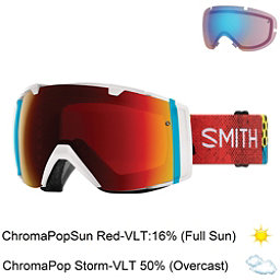Smith I/O Goggles 2018, Burnside-Chromapop Sun Red Mir + Bonus Lens, 256