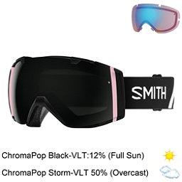 Smith I/O Goggles 2018, Monaco-Chromapop Sun Black + Bonus Lens, 256