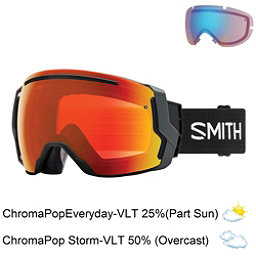 Smith I/O 7 Goggles 2018, Black-Chromapop Everyday Red M + Bonus Lens, 256