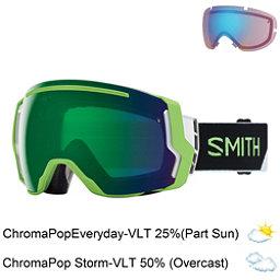 Smith I/O 7 Goggles 2018, Reactor Split-Chromapop Everyd + Bonus Lens, 256