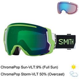 Smith I/O 7 Goggles, Reactor Split-Chromapop Sun Gr + Bonus Lens, 256