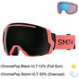 Smith I/O 7 Goggles, Sunburst Split-Chromapop Sun B + Bonus Lens, 256