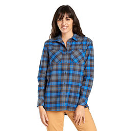 United By Blue Tomek Relaxed Plaid Womens Shirt, , 256
