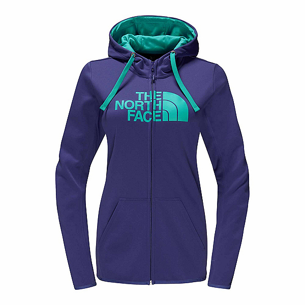 The North Face Fave Half Dome Full-Zip Womens Hoodie, , 600