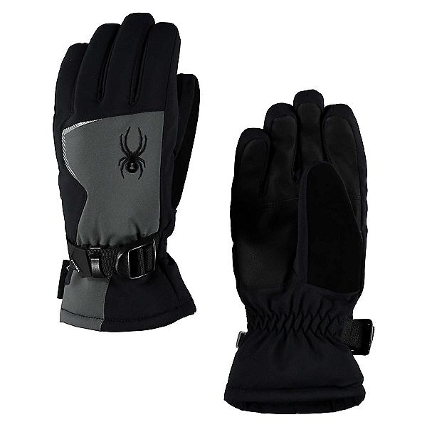Spyder Traverse GORE-TEX Kids Gloves, Polar-Black, 600