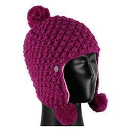 Spyder Bitsy Brrr Berry Toddlers Hat, Raspberry, 256