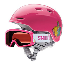 Smith Zoom and Rascal Combo Kids Helmet 2018, Pink Popsicles, 256