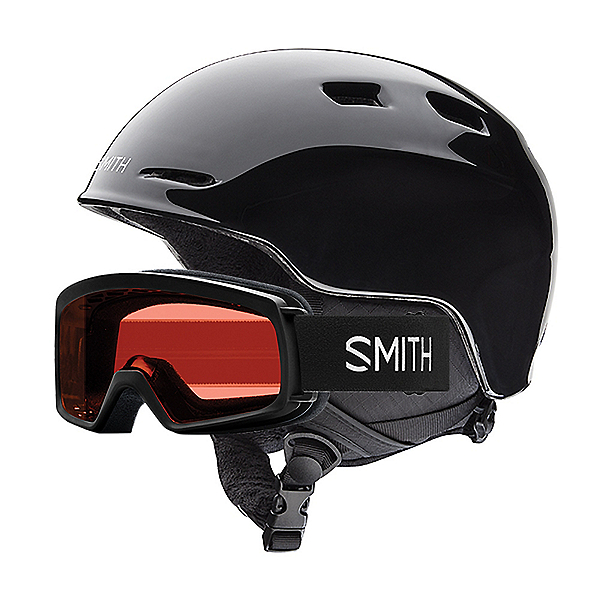 Smith Zoom Jr. and Rascal Kids Helmet 2021, Black, 600