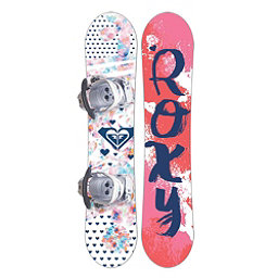 Roxy Poppy Girls Snowboard Package 2018, , 256