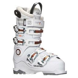 Salomon X-Pro Custom Heat W Womens Ski Boots 2018, White-Corail, 256