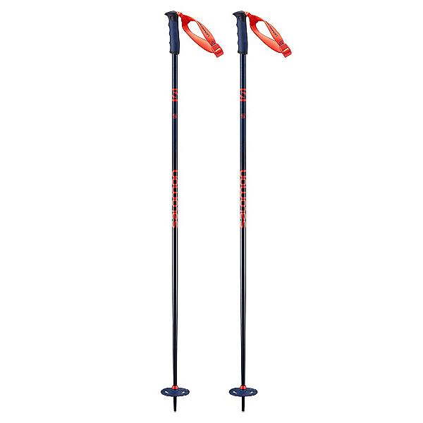 Salomon Hacker S3 Ski Poles, Blue, 600