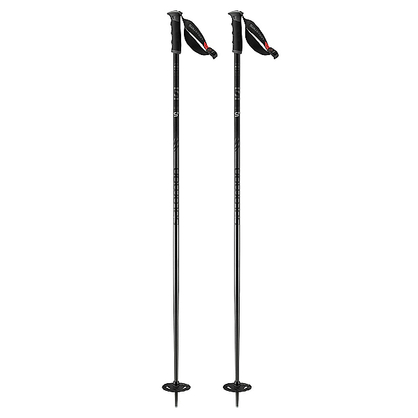 Salomon Hacker S3 Ski Poles 2018, Black, 600