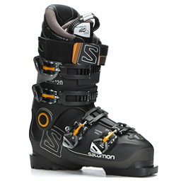 Salomon X-Pro 120 Ski Boots 2018, Black-Metallic Black-Light Gre, 256