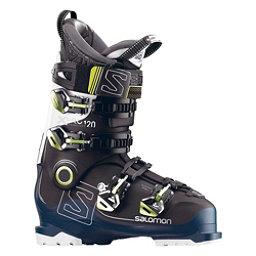 Salomon X-Pro 120 Ski Boots 2018, Black-Petrol Blue-White, 256