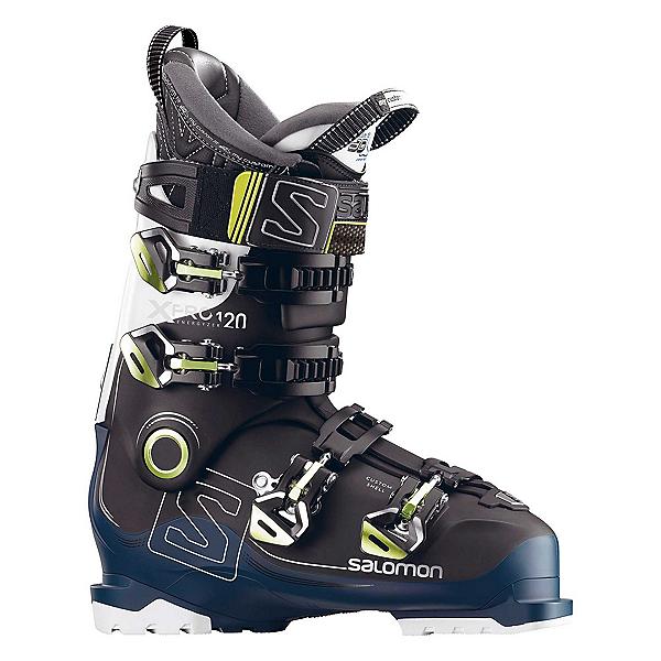 Salomon X-Pro 120 Ski Boots, Black-Petrol Blue-White, 600