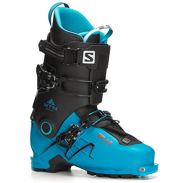 Salomon S/Lab MTN Alpine Touring Boots 2018, Translucent Blue-Black, 600