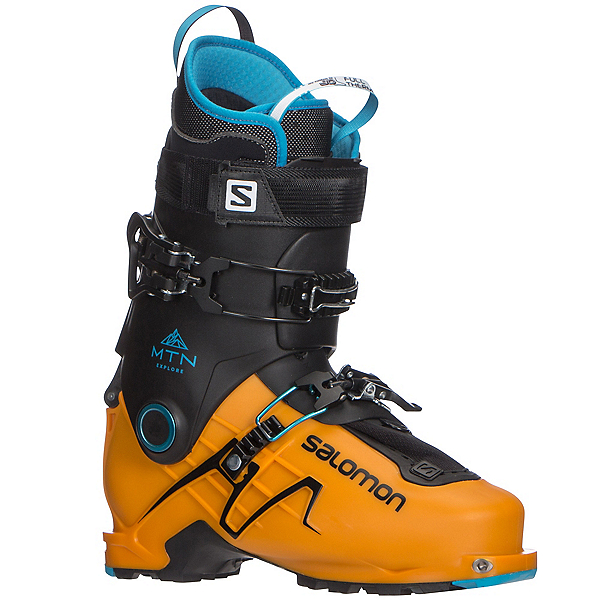 Salomon MTN Explore Alpine Touring Boots 2018, Safran-Black, 600