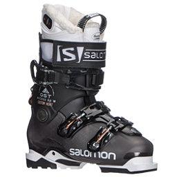 Salomon QST Access Custom Heat W Womens Ski Boots 2018, Anthracite Translucent-Black-C, 256