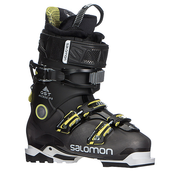 Salomon QST Access 90 Ski Boots 2018, Anthracite Translucent-Black-A, 600