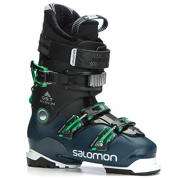 Salomon QST Access 80 Ski Boots 2018, Black-Petrol Blue-True Green, 600