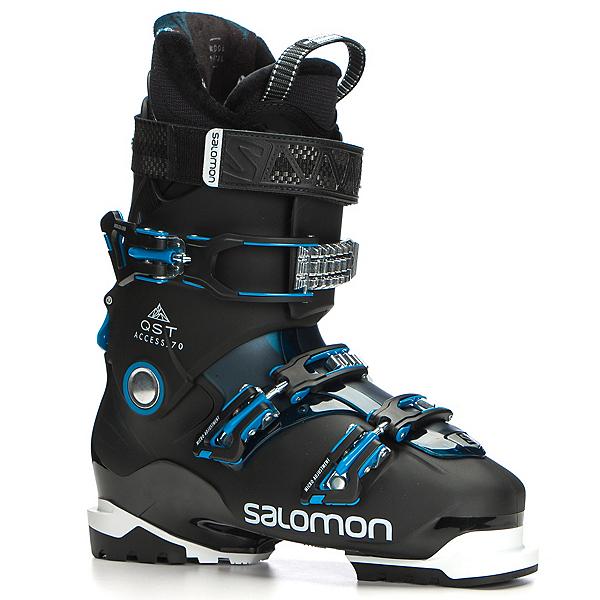 Salomon QST Access 70 Ski Boots 2018, Black-Petrol Blue-Aqua Blue, 600