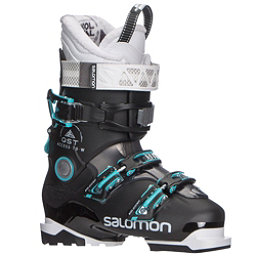 Salomon QST Access 70 W Womens Ski Boots 2018, Black-Anthracite Translucent-A, 256