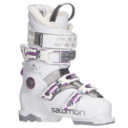 Salomon QST Access 60 W Womens Ski Boots 2018, White-Anthracite Translucent-P, 256