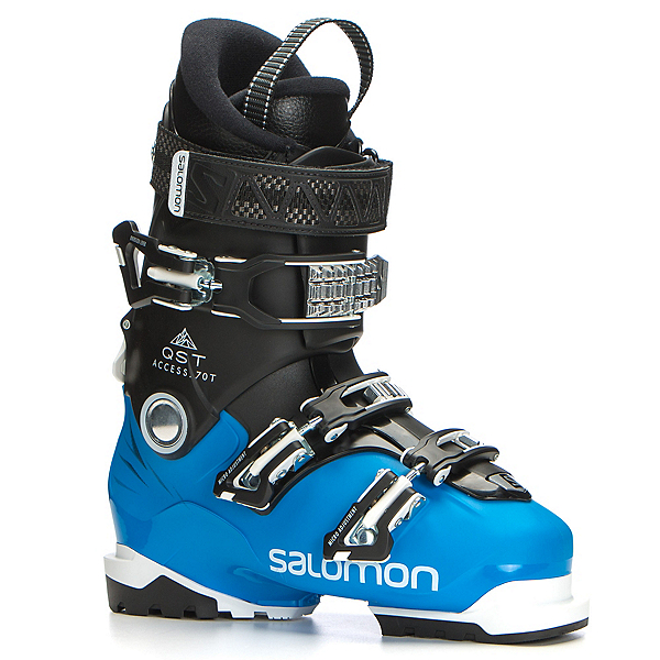 Salomon QST Access 70 T Kids Ski Boots, Indigo Blue-Black, 600