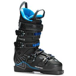 Salomon X-Max 100 Ski Boots 2018, Black-Metallic Black-Indigo Bl, 256