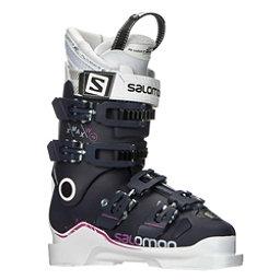 Salomon X-Max 70 W Womens Ski Boots 2018, Eggplant-White-Pink, 256