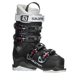 Salomon X-Access 60 W Wide Womens Ski Boots 2019, Black-Anthracite-Pinks07, 256