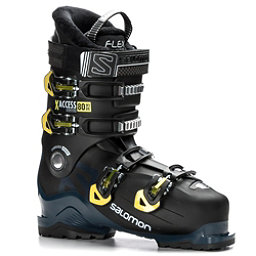 Salomon X-Access 80 Wide Ski Boots 2018, Black-Petrol Blue-Acid Green, 256