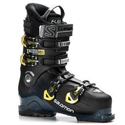 Salomon X-Access 80 Wide Ski Boots 2019, Black-Petrol Blue-Acid Green, 256