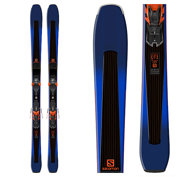 Salomon XDR 88 Ti Skis with Warden MNC 13 Bindings 2018, , 600