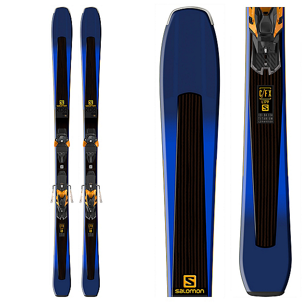 Salomon XDR 84 Ti Skis with Warden MNC 13 Bindings 2018, , 600