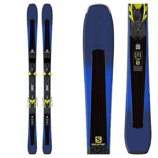 Salomon XDR 80 Ti Skis with XT 12 Bindings, , 600
