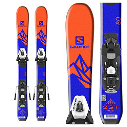 Salomon QST Max Jr. Kids Skis with C5 SR Ezytrak Bindings 2018, , 256