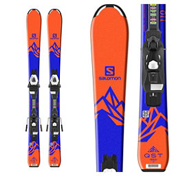 Salomon QST Max Jr. Kids Skis with C5 Ezytrak Bindings 2018, , 256