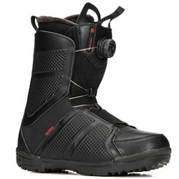 Salomon Faction Boa Snowboard Boots 2018, Black, 256