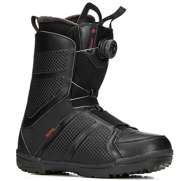 Salomon Faction Boa Snowboard Boots, Black, 600