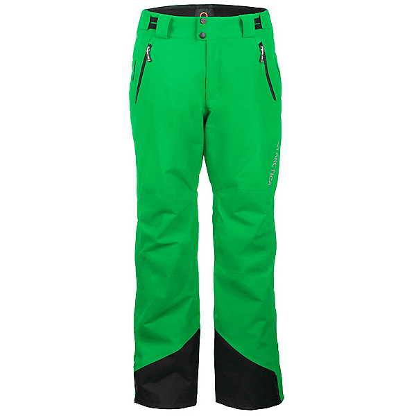 Arctica Side Zip 2.0 Unisex Ski Pants, Lime, 600