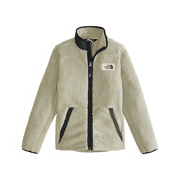 The North Face Campshire Full Zip Boys Jacket, Granite Bluff Tan, 600