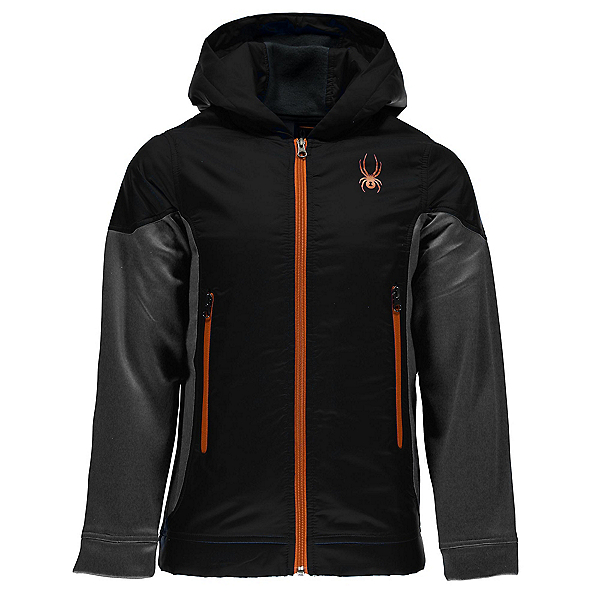 Spyder Hybrid Hoody Kids Jacket, Black-Polar-Burst, 600