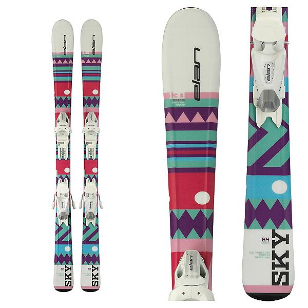 Elan Sky Kids Skis with EL 7.5 Bindings, , 600