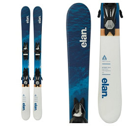 Elan Pinball Pro Kids Skis with EL 7.5 Bindings 2018, , 256