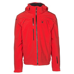 Spyder Alyeska Mens Insulated Ski Jacket, Red, 256