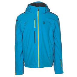 Spyder Alyeska Mens Insulated Ski Jacket, French Blue, 256